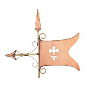 Banner Copper Weathervane-0