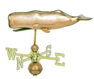 Sperm Whale Copper Weathervane-0