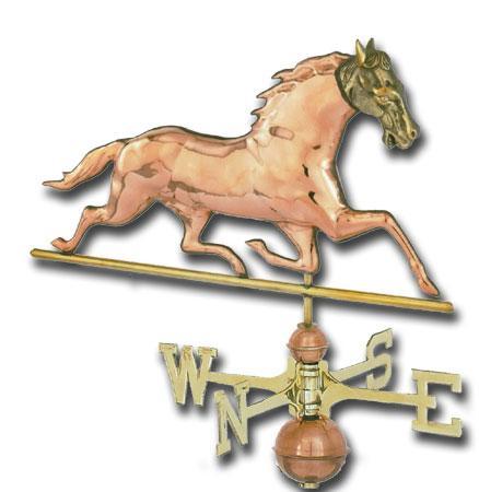 Patchen Horse Copper Weathervane-0