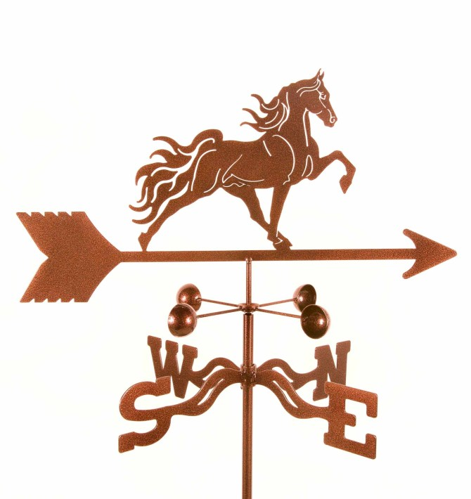 Tennessee Walker Horse Weathervane -0