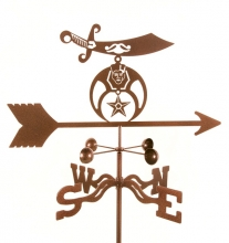 Shriners Weathervane-0
