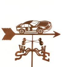 Race Car #3 Weathervane-0
