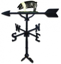 "Old Barn Rustic Co. 32"" Pig Steel Weather Vane-0"