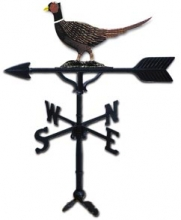 "Old Barn Rustic Co. 32"" Pheasant Steel Weather Vane-0"