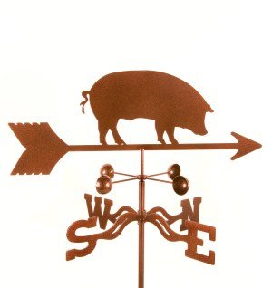 Pig Weathervane-0