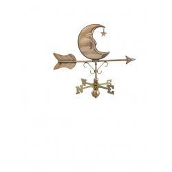 Moon & Stars Cottage Weathervane-0