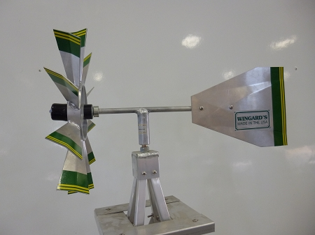Eighteen Foot Ornamental Aluminum Windmill-4450