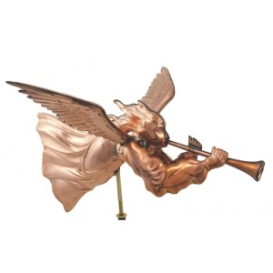Angel Copper Weathervane-0