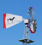 Thirty Foot Pond Aeration Aluminum Windmill-0