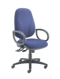 Classic blue office chair | Weaver Bomfords