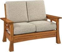 Brady Sofa, Loveseat and Chair Set   Custom Amish Furniture