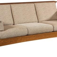 Sofa Bed Timber Slats Bluebell Highback Slat Wood Mission