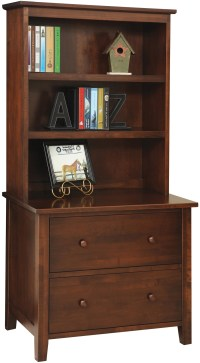 File Cabinet With Hutch