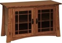 Modesto Tall TV Cabinet | Custom Amish Furniture