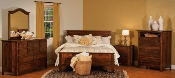 Shaker Style Bedroom Collection  Shaker Style Solid Wood Bedroom Set