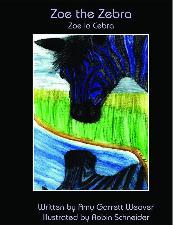Zoe the Zebra / Zoe la Cebra - Kindle
