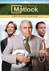 Complete Season 6 of Matlock on DVD