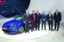 Nouvelle Golf break R Line concept VW
