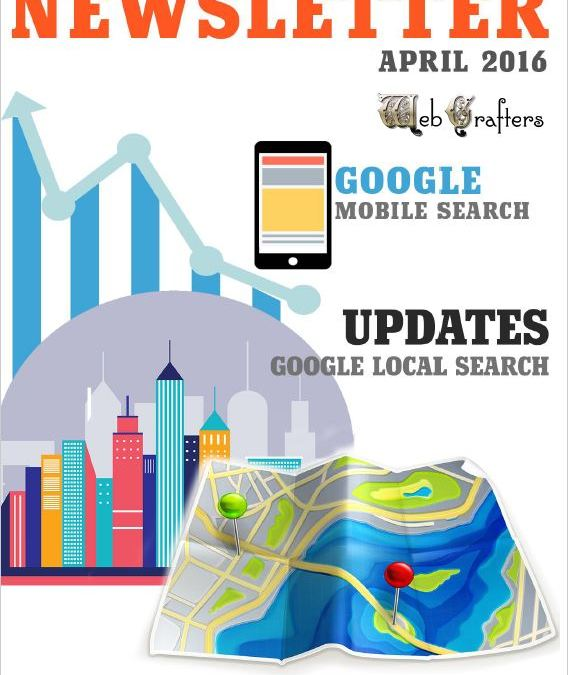 WebCrafters LLC SEO Newsletter April 2016