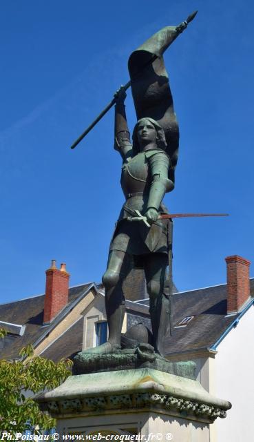 Jeanne d'Arc de Saint Pierre le Moutier