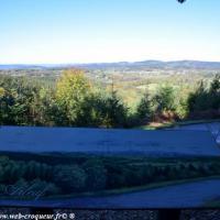 Panorama d'Arleuf - Parc naturel du Morvan
