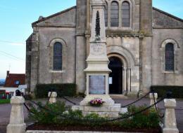 Monument aux Morts de Crux la Ville