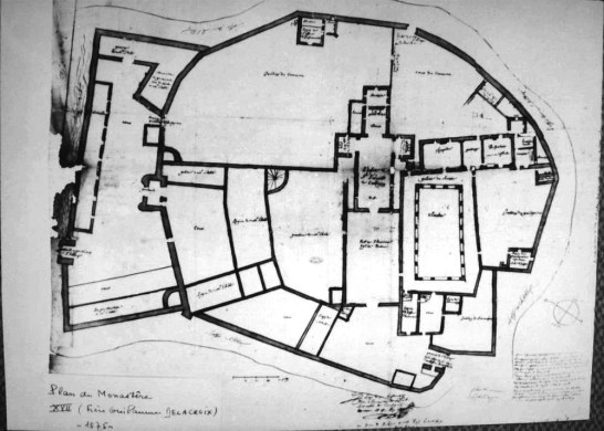 Ancien plan de Corbigny