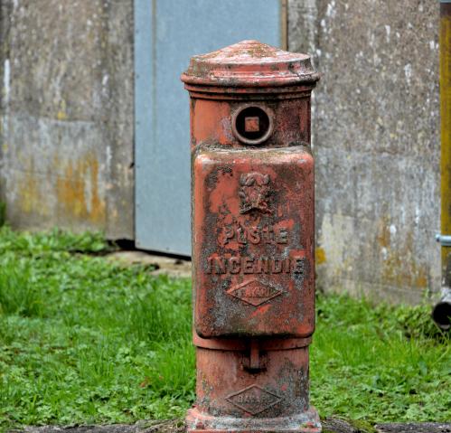 Ancienne bouche d'incendie de la Coudraye