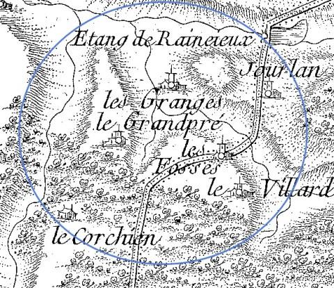 Cassini Les Granges
