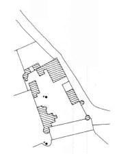 Plan du château d'Arbouse