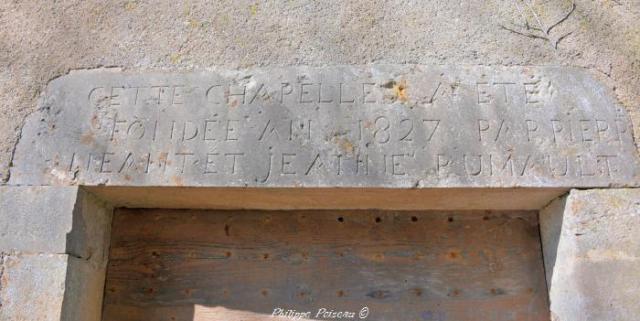 Porche de la Chapelle de La Billerette
