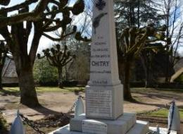 Monument aux morts de Chitry les Mines
