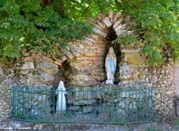 Grotte de la vierge de Brinon sur Beuvron