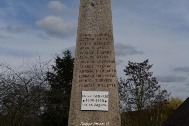 Monument aux morts de Fléty