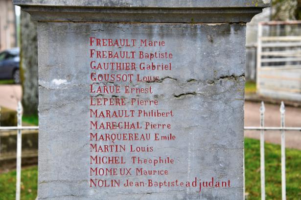 Monument aux morts de Bazolles
