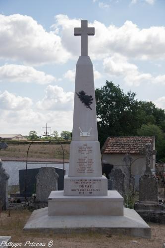 Monument aux morts de Devay Nièvre Passion