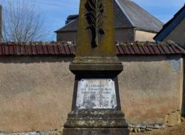 Monument aux morts de Maux Nièvre Passion