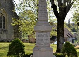 Monument aux morts de Sainte Colombe des Bois