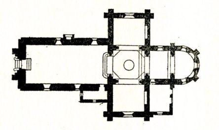 Plan de l'église de Garchizy