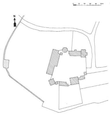 Plan du château de La Garde