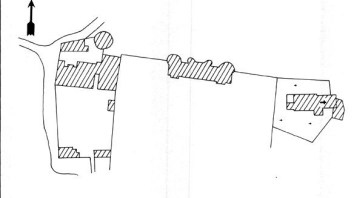 Plan du château d'Arthel
