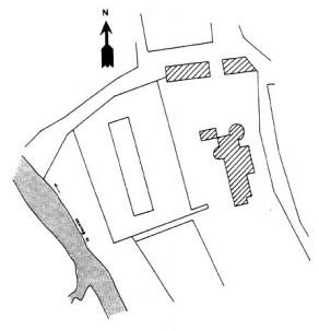Plan du château de Beuvron
