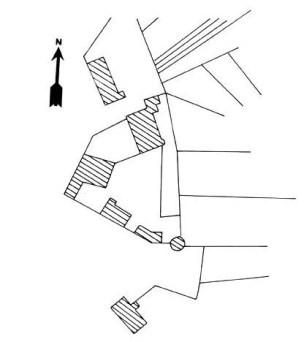 Plan du château de Champallement