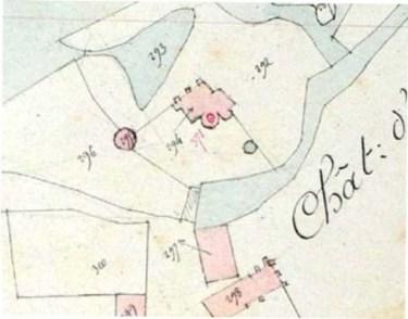 Plan du château de Limanton