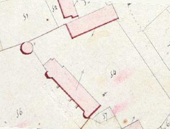 Plan du château de Montigny sur Canne