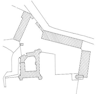 Plan du château du Nozet