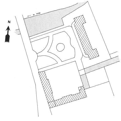 Plan du château de Saint-Amand-en-Puisaye
