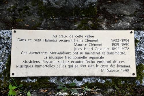 Plaque de commémoration de Boutenot
