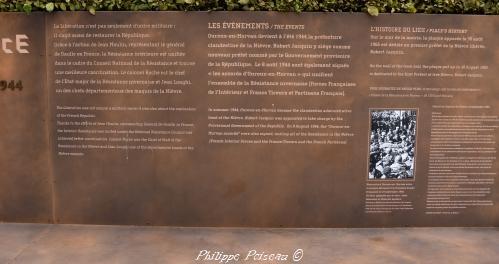 Stèles de la résistance Nièvre Passion