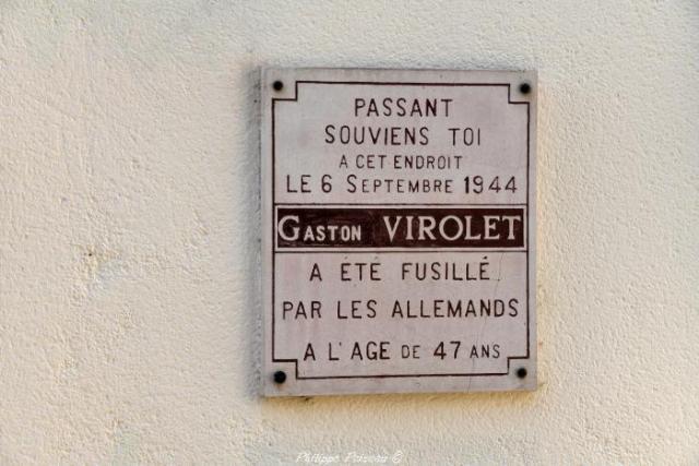 Virolet Gaston victime de guerre